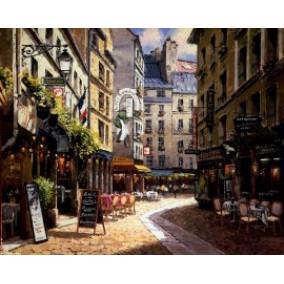 Картина по номерам GX 1018 Кафе в Париже 40*50