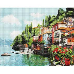 Алмазная мозаика GF 1811 Городской пейзаж40*50