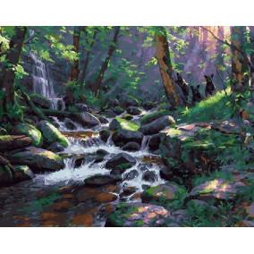 Картина по номерам GX 21090 Медвежата в лесу 40*50