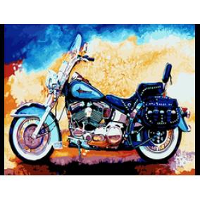 Картина по номерам GX 22028 Мотоцикл 40*50
