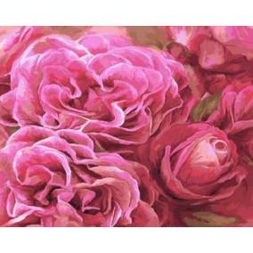 Картина по номерам GX 22043 Розовое совершенство 40*50