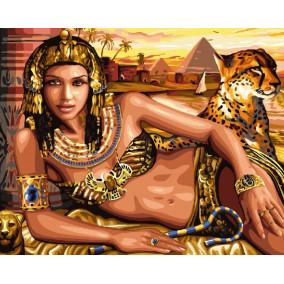 Картина по номерам GX 24126 Царица Клеопатра 40*50