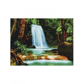 Алмазная мозаика GF 2646 Водопад 40*50