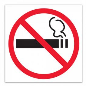 """Наклейка """"Курение запрещено"""""""