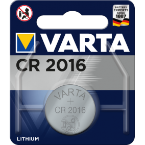 Батарейка VARTA ELECTRONICS CR2016 BL1 (блистер 1шт)