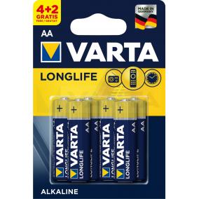 Батарейка VARTA LONGLIFE LR6 AA BL6 (4+2)