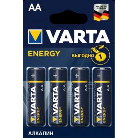 Батарейка VARTA ENERGY LR6 AA BL4 - (блистер 4шт)