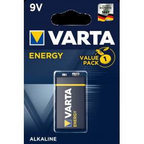 Батарейка VARTA ENERGY 9V BL1 (блистер 1шт)