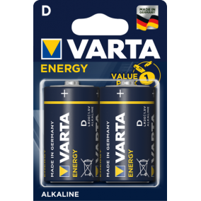 Батарейка VARTA ENERGY D LR20 BL2 (блистер 2шт)