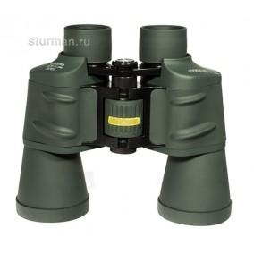 Бинокль STURMAN 10x50 С, зеленый