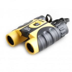 Бинокль Veber 8*25 WP черный/желтый