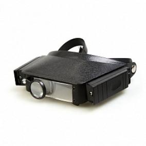 Лупа налобная Veber LP-23-II, с подсветкой