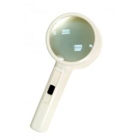 Лупа Bresser 2x, 90 мм, с подсветкой