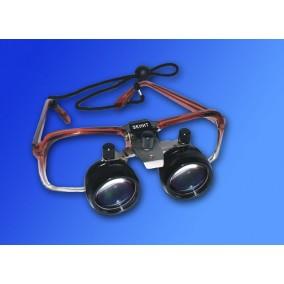 Лупа бинокулярная Zenit ЛБ-1М, телескопическая на очковой оправе