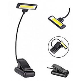 Лампа подсветка для чтения на прищепке COB LED (Kromatech JY-1188)