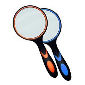 Лупа Kromatech ручная круглая 10х, 50 мм, с двухцветной ручкой