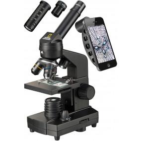 Микроскоп Bresser National Geographic 40-1280х с адаптером для смартфона