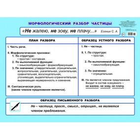 Плакат. МР частицы 5-6 кл