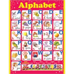 Плакат. ALPHABET(490х690)