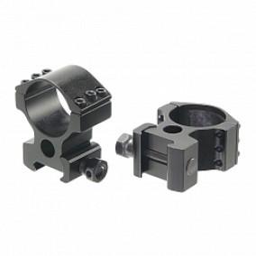 Кольца для прицела Veber 3006H Weaver
