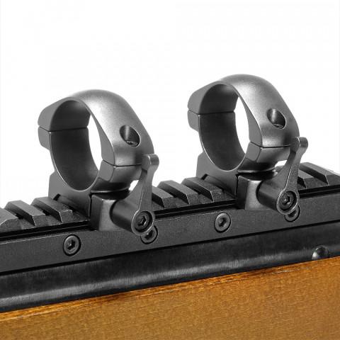 Кольца для прицела Veber E 3021 L Weaver быстросъёмные