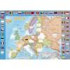 Большой подарок  №3. Страны и флаги. Пазл 260 дет.+Атлас с накл+Игровые карточки