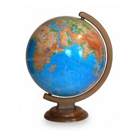 Глобус физический 320 на деревянной подставке