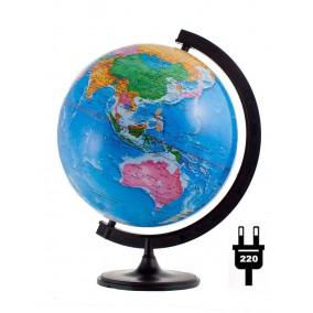 Глобус политический 320 мм с подсветкой