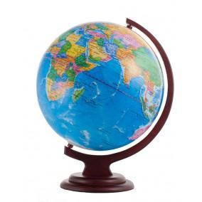 Глобус политический 320 на деревянной подставке
