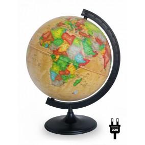 Глобус политический Ретро-Александр 320 с подсветкой