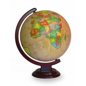 Глобус политический Ретро-Александр 320 на деревянной