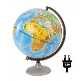 Глобус физический 250 с подсветкой