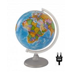 Глобус политический 250 мм с подсветкой