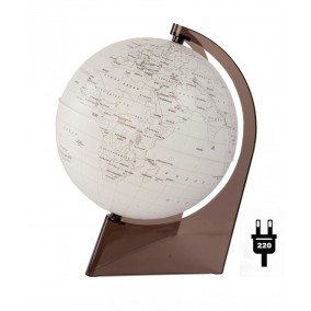 Глобус Земли контурный 210 с подсветкой