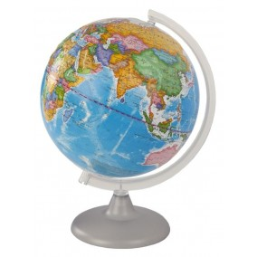 Глобус политический 250 мм рельефный