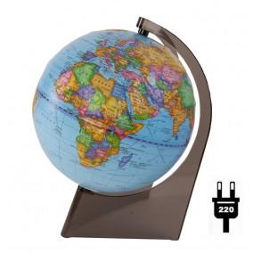 Глобус политический 210 рельефный на треугольной подставке с подсветкой