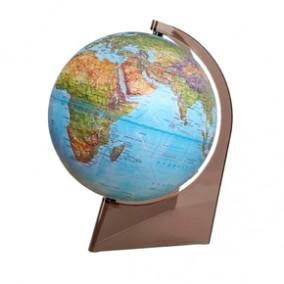 Глобус ландшафтный 210 рельефный на треугольной подставке