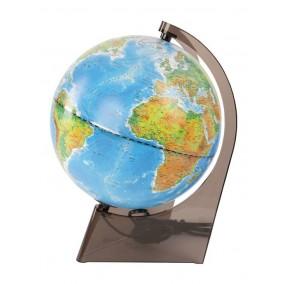 Глобус физический/политический 210 мм на треугольной подставке с подсветкой