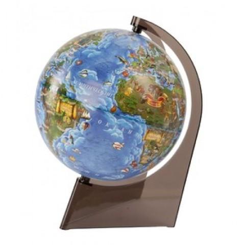 Глобус Земли для детей 210 на треугольной подставке