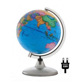 Глобус политический 200 мм с подсветкой