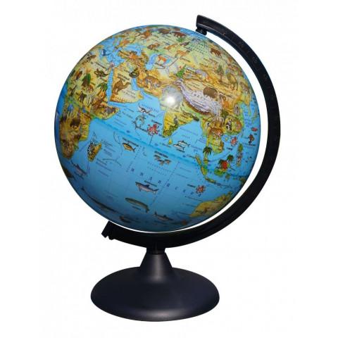 Глобус Зоогеографический 250 мм