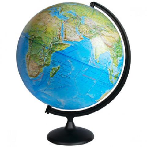 Глобус Земли Географический диаметр 420 мм