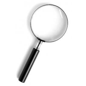 Лупа Kromatech ручная круглая 2,5х, 90 мм, в металлической оправе