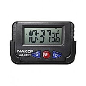 Часы автомобильные Nako NA-613D (с держателем)